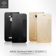 ASUS ZenFone 3 Max ZC520TL 前插卡仿小羊皮站立皮套