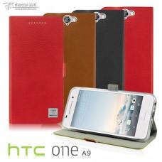 HTC One A9 超薄時尚TPU內層霧面站立皮套