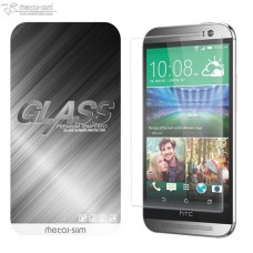 HTC ONE M8 9H弧邊耐磨防指紋鋼化玻璃保護貼