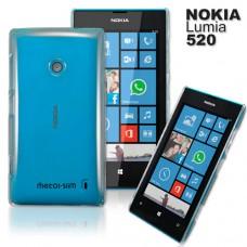 Nokia Lumia 520 透明晶透手機保護殼