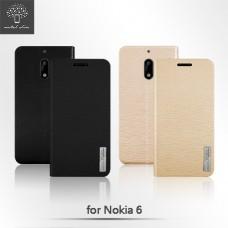 Nokia 6 時尚流星紋插卡立架皮套