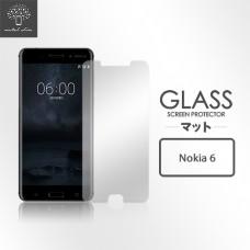 Nokia 6 9H弧邊耐磨防指紋鋼化玻璃保護貼