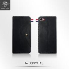 OPPO A3 三角扣內插卡TPU站立架皮套