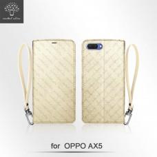 OPPO AX5 掛繩設計內插卡TPU站立架皮套