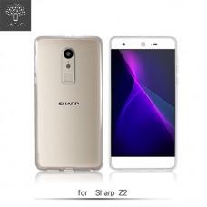 Sharp Z2 超薄防沾黏防水漬果凍套
