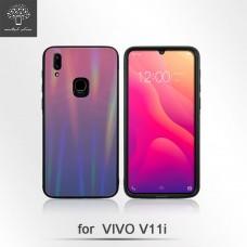 Vivo V11/V11i 漸變紫強化玻璃背殼
