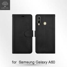 Samsung Galaxy A60 高仿小牛皮TPU站立皮套
