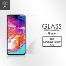 Samsung Galaxy A70 9H弧邊耐磨防指紋鋼化玻璃保護貼