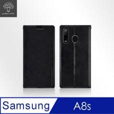 Samsung Galaxy A8s 時尚插卡立架皮套