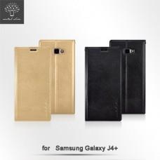 Samsung Galaxy J4+ 時尚立架皮套